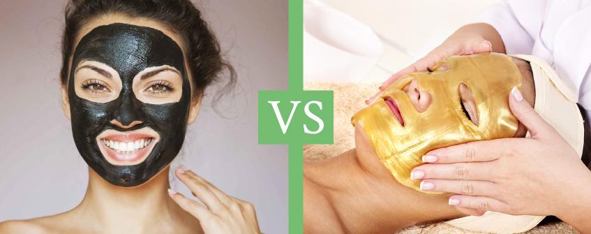 Black Mask o Gold Mask? Confronto tra le maschere viso più amate