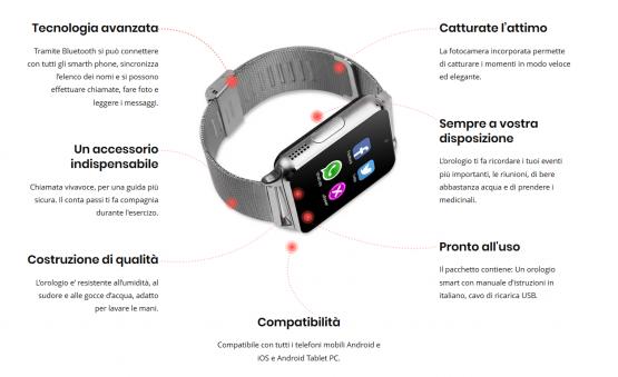 smartwatch compatibile con whatsapp